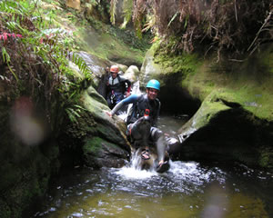 Canyoning, Rocky Creek Canyon, Introductory - Blue Mountains