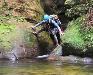 Canyoning, Empress Falls Canyon, Introductory - Blue Mountains