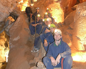 Caving Adventure, Plughole Cave - Jenolan caves, Sydney