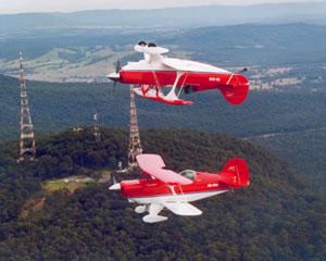 Aerobatics Formation Flight for Two 30 minute Hunter Valley