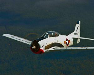 Aerobatic Fighter Bomber T28 Trojan 40 Minute Flight Hunter Valley