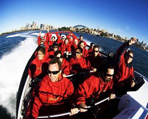30 min Jet Boat Ride Sydney Harbour