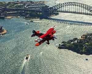 Scenic Flight, 50 Minute Open Cockpit Airplane Tour - Sydney Harbour