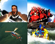 Awesome Foursome: Raft, Bungy, Heli & Jetboat - Queenstown