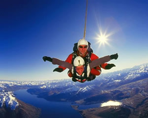 Queenstown Skydiving – Your Own Scenic Flight
