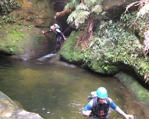 Canyoning, Grand Canyon, Introductory - Blue Mountains
