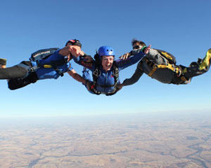 Skydiving Perth - Learn to Skydive, AFF Course Stage 1