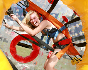 Zorbing, Single Zorbing Pass - Gold Coast