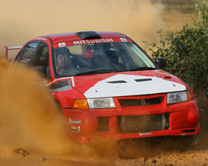 Rally Driving 2 Car 12 Lap Blast - Richmond NSW