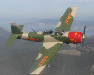 Aerobatic Warbird Flight, 35-minute - Hobart