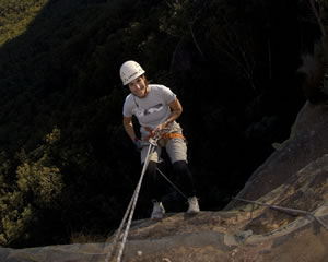 Abseiling and Rockclimbing in the Cataract Gorge Full Day Tasmania