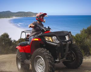 Quad Bike 2 Hour Adventure - Freycinet National Park, Tasmania