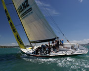 America's Cup Sailing, Auckland Harbour