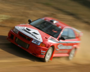 Rally Driving 2 Car 12 Lap Blast - Brisbane
