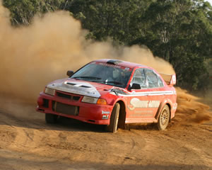 Rally Driving 2 Car 12 Lap Blast - Perth