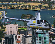 Helicopter Scenic Flight for up to 3, VIP 30 Min City Orbit, Melbourne