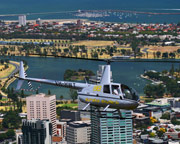 Helicopter Scenic Flight for up to 3, VIP 20 Min City Orbit, Melbourne