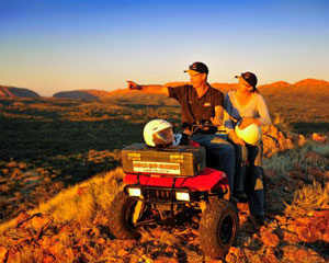Quad Biking - 2.5 Hour Quad Rush Tour, Alice Springs
