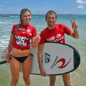 Surfing Learn to Surf Group Lesson Coolangatta Beach - Gold Coast