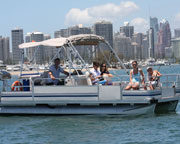 Boat Hire, BBQ Boat for 10 - Gold Coast