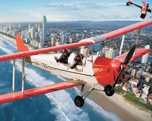 Tiger Moth Aerobatic Flight, 35 Minute Thrillseeker - Gold Coast
