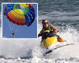 Jet Ski Hire and Parasail for 2 - Gold Coast