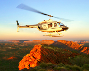 'Around the Gaps' 60-min scenic Helicopter Tour - Alice Springs