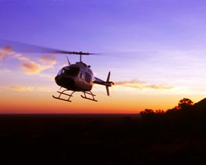'Champagne Sunset' 20-min Scenic Helicopter Tour - Alice Springs
