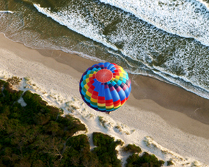 Champagne Balloon Flight - Byron Bay