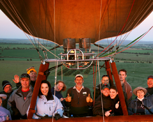 Hot Air Ballooning, Weekend Champagne Balloon Flight - Perth