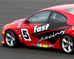 V8 Race Car Ride, 3 Laps Front Seat - Barbagallo Perth