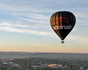 Hot Air Ballooning for 2 - Melbourne CBD, City Flight