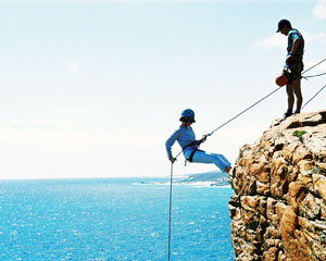Abseiling and Rock Climbing Adventure for 6 or More - Margaret River WA