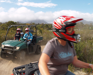 Quad Bike Half Day Safari - Freycinet National Park, Tasmania