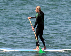 Stand Up Paddle Boarding, 1.5hr Private Lesson - Newcastle
