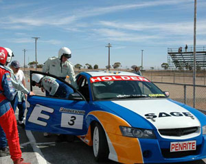 V8 Ute Race Car, 3 Lap Ride and 7 Lap Drive - Adelaide