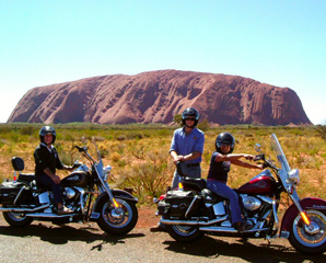 Harley Davidson 1 5hr Ayers Rock Sunrise Sunset Tour Nt