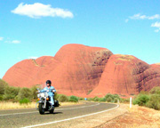 Harley Davidson, 2.5 Hours Rock and Olgas - NT