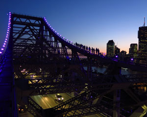 Story Bridge Adventure Climb, Night Climb - Brisbane INCLUDES PHOTO