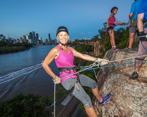 Abseiling, Sunset Kangaroo Point - Brisbane