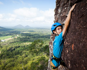 Rock Climbing, Full Day - Glasshouse Mountains, Sunshine Coast