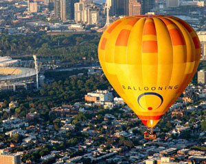 Hot Air Ballooning Weekday - Melbourne, City Flight