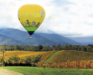 Hot Air Ballooning - Melbourne, Yarra Valley