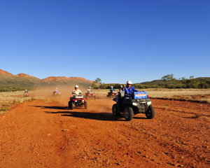 Quad Biking - 3.5 Hour Undoolya Discovery Tour, Alice Springs