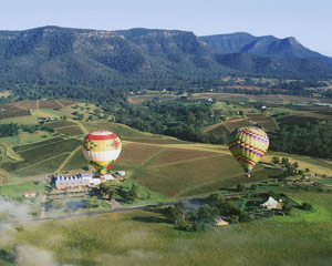 Hot Air Ballooning, Weekend Flight - Hunter Valley