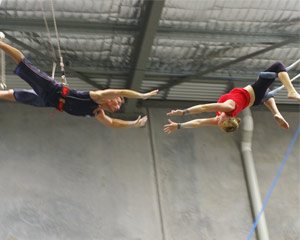 Flying the Trapeze & Circus Arts