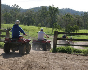Quad Bike Tour, Half Day - Gippsland, Melbourne Region