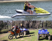 Jet Ski and Quad Bike Adventure, Full Day - Melbourne