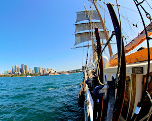 Sailing, Tall Ship Discovery Cruise - Sydney