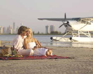 Romantic Seaplane Island Picnic - Gold Coast